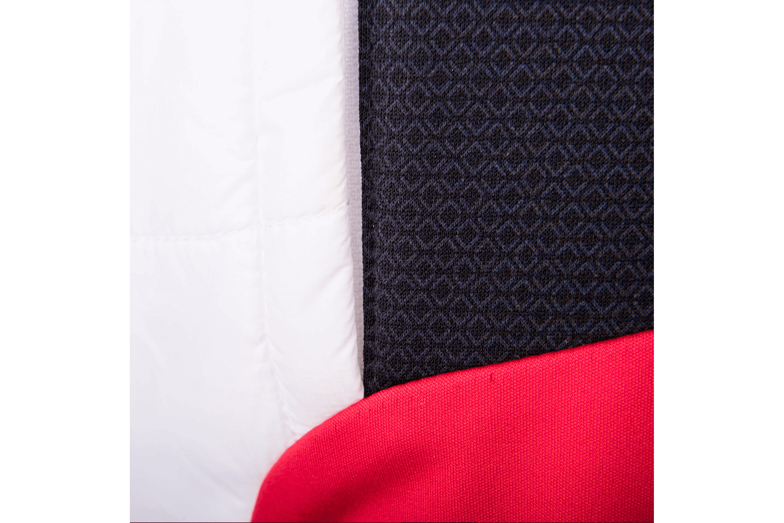 Details of a material on a breathable cross-country jacket by MAYA MAYA