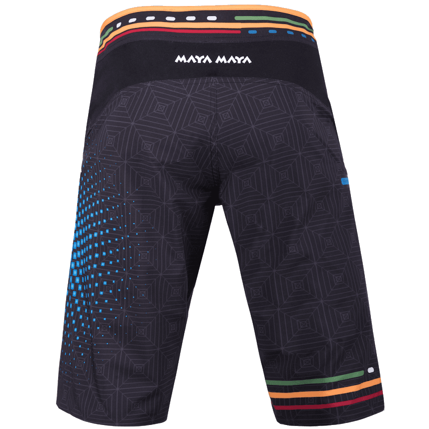 Opti shorts black back
