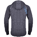 Paavo sweater dark grey back