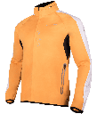 Peponi jacket orange side
