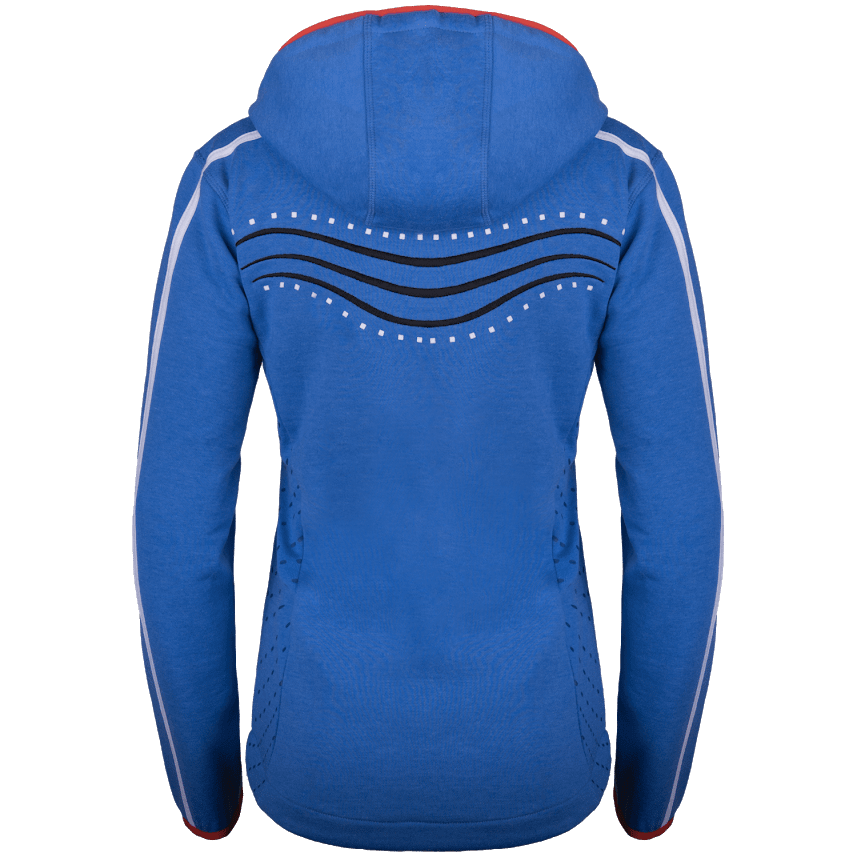 Xandra sweater blue back