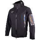 Tribe jacket black 2 by MAYA MAYA