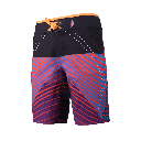 Kachina shorts orange side