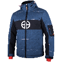 Kongo jacket blue side