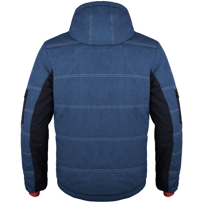 Kongo jacket blue back